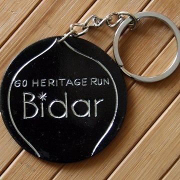Bidri Key Chain - Bidar Souvenir