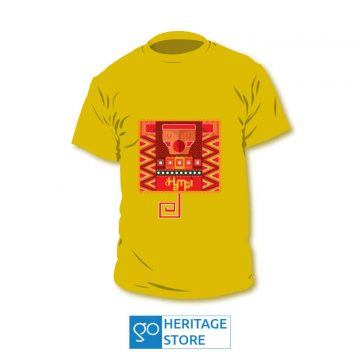 Hampi-monkey-yellow-tshirt
