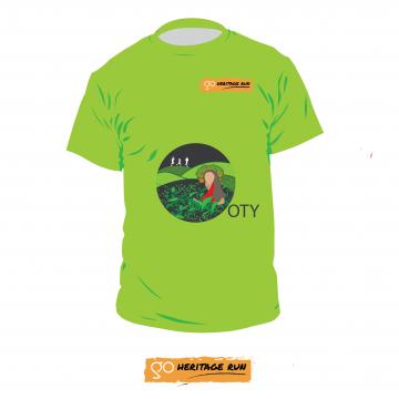 Go Heritage Run - Ooty 2017 Run T-shirt