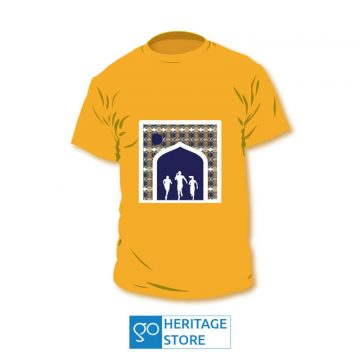 Hyderabad-fort-runners-orange-tshirt